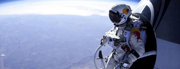 Photo of O que Baumgartner viu quando saltou do espaço