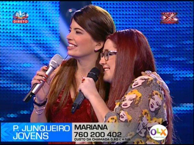 Photo of Mais uma excelente participação de Mariana no Factor X