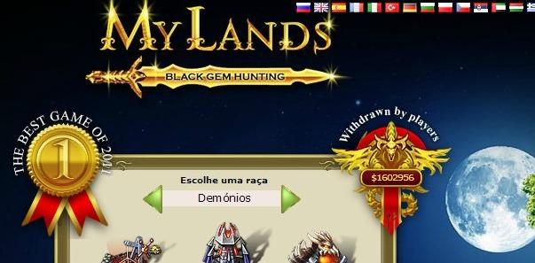 Photo of My Lands Game – Jogas e ganhas dinheiro
