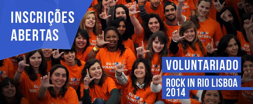 Photo of Abertas as inscrições para voluntariado no Rock in Rio-Lisboa 2014