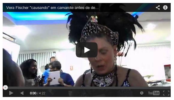 Photo of Vera Fisher bêbada dá declarações polémicas