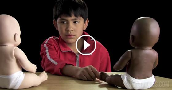 Photo of Teste de racismo com crianças