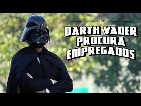 Photo of Darth Vader Procura Empregados