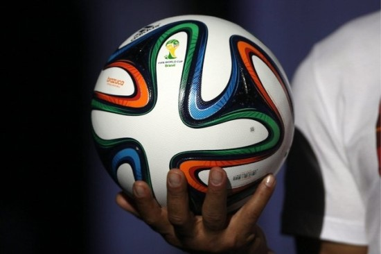 Launching of the official ball to Brazil 2014