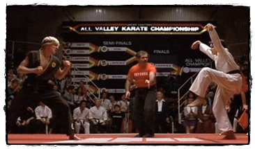 Karate Kid Kick cranekick