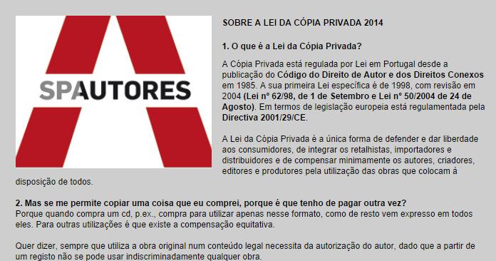 Photo of Sociedade Portuguesa de Autores (SPA) faz plágio e ainda tenta fazer as pessoas de parvos