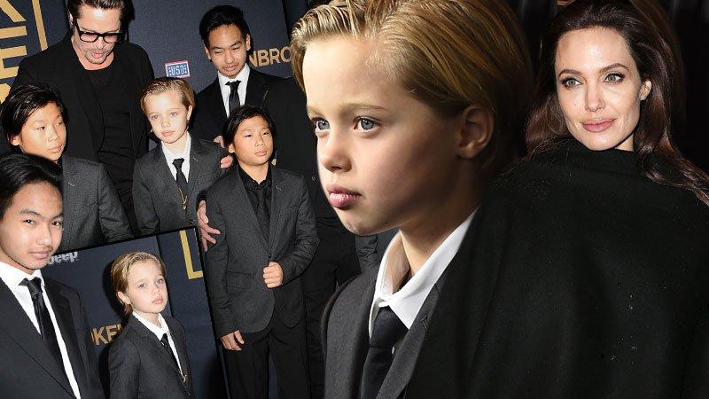 Filha de Brad Pitt e Angelina Jolie quer ser um rapaz ...