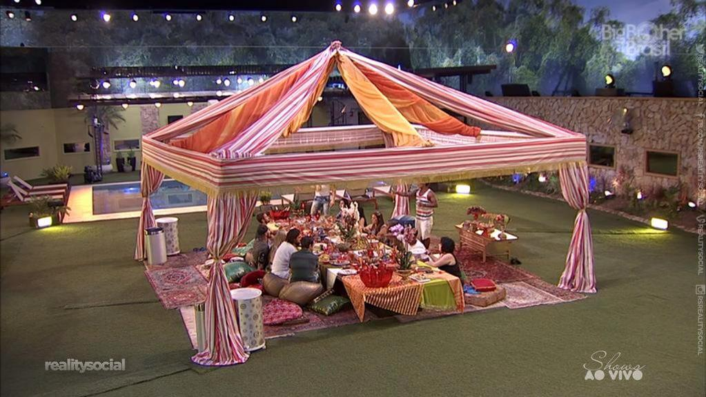 Photo of BBB 15: Festa árabe com grande produção no Big Brother Brasil