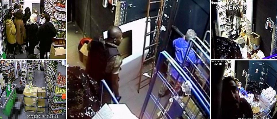 Photo of Divulgadas imagens do interior do supermercado atacado por Amedy Coulibaly