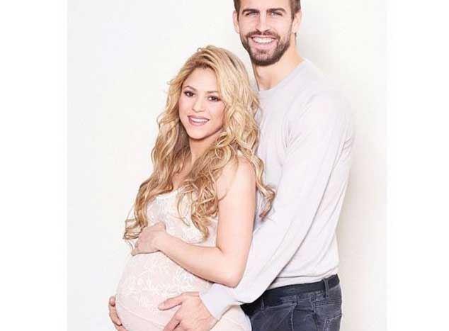 Photo of Shakira e Gerard Piqué vão ser hoje pais novamente
