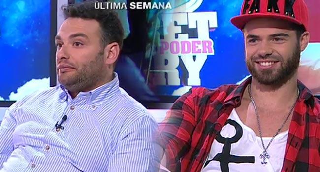 Photo of António e Rúben Boa Nova no extra do «Luta Pelo poder»