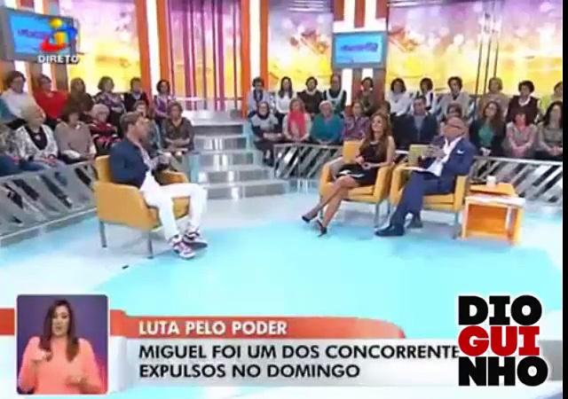 Photo of Miguel e Agnes Arabela no Você na TV