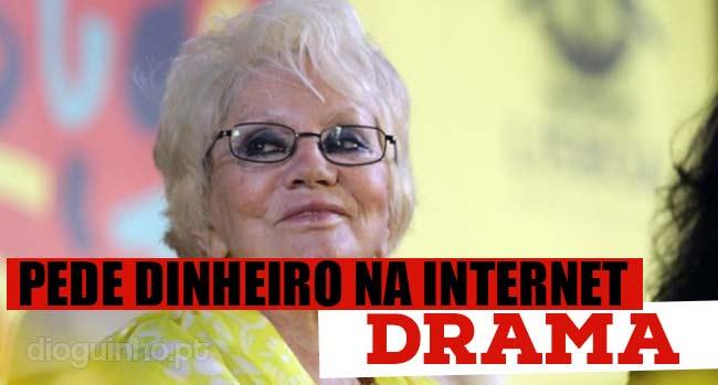 Photo of Florbela Queiroz pede dinheiro no Facebook
