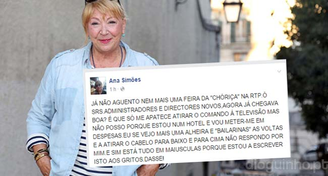 Photo of BRONCA: Ana Bola usa as redes sociais para arrasar a RTP