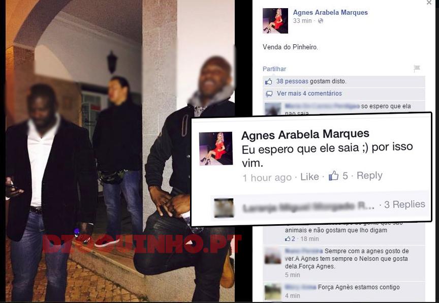 Photo of Ex-marido da Agnes Arabela leva seguranças para a Venda do Pinheiro
