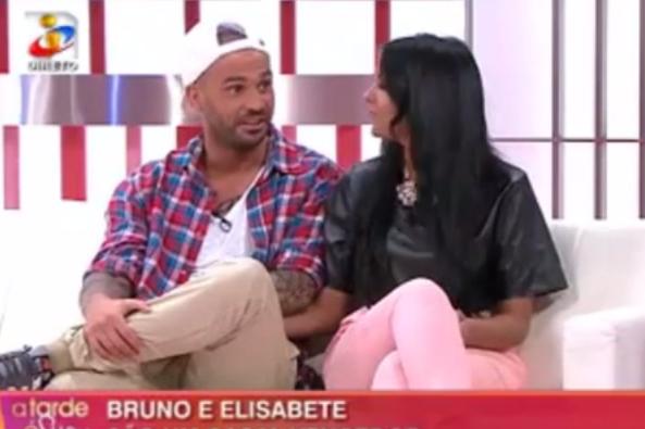 """Photo of Bruno Sousa e Elisabete no a """"Tarde é Sua"""" com Iva Domingues"""
