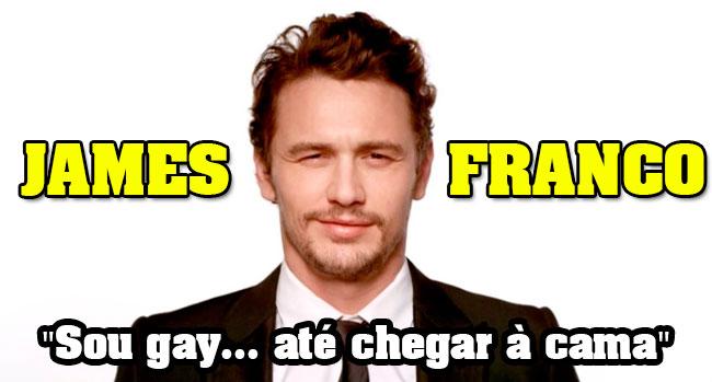 """Photo of James Franco afirma """"Sou gay… até chegar à cama"""""""