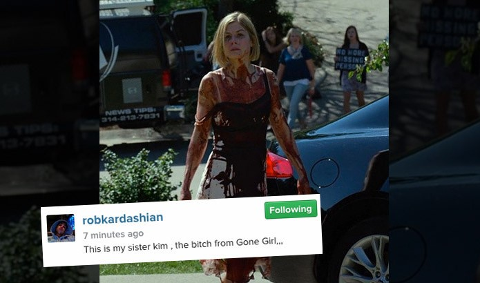 Photo of Rob Kardashian compara Kim Kardashian a assassina psicótica