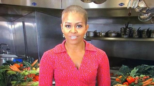 Photo of Michelle Obama está careca?