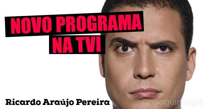 Photo of Gato Fedorento: Ricardo Araújo Pereira tem novo programa na TVI