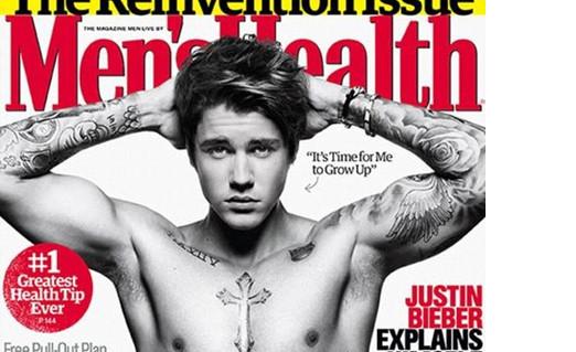 Photo of Justin Bieber é capa da Men's Health