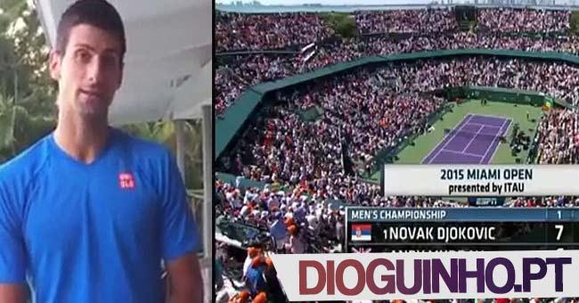 Photo of Novak Djokovic danado grita com apanha bolas, mas depois retrata-se