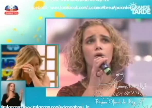 Photo of Luciana Abreu cantou há muitos anos no Big Show SIC, sabia?