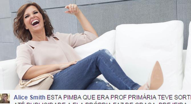 Photo of Cristina Ferreira continua a responder aos insultos