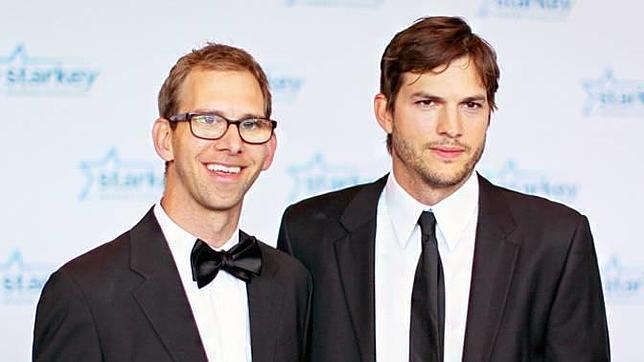 Asthon y Michael Kutcher