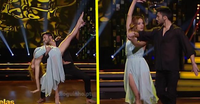 Photo of Sara Prata arrasou na sua estreia no «Dança com as Estrelas»