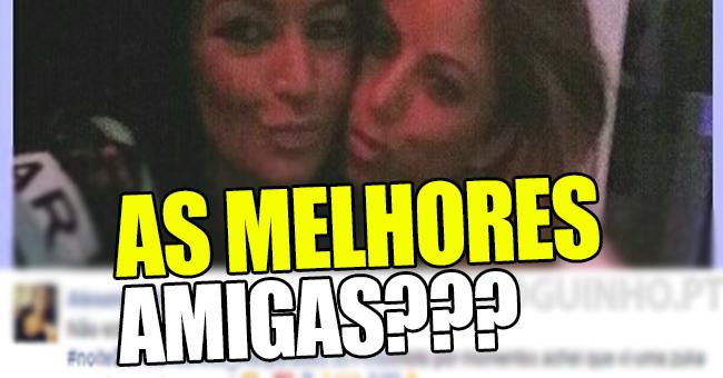 Photo of Joana Pinto e Alexandra agora são amigas, e até a Kátia Aveiro apoia