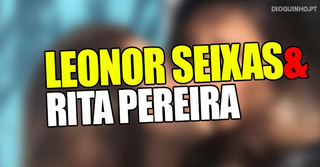 Photo of Leonor Seixas beija Rita Pereira na Boca