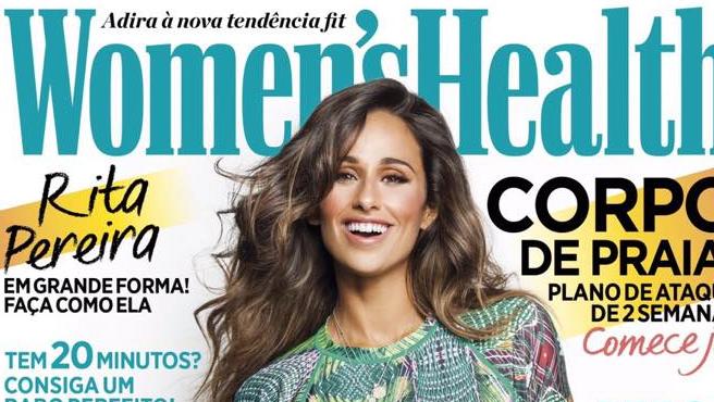 Photo of Rita Pereira é capa da primeira Women's Health Portugal de 2015