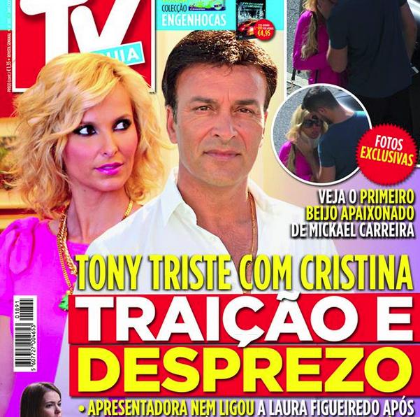 Photo of TVGuia: Tony Carreira está zangado com a Cristina Ferreira