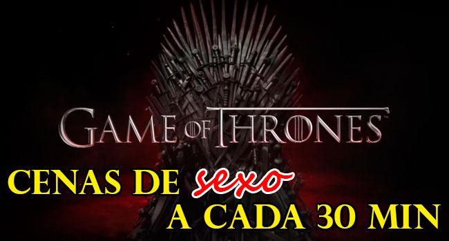 Photo of Game of Thrones tem cenas de sexo a cada 30 minutos