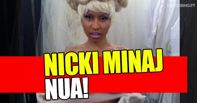 Photo of Fotos nuas de Nicki Minaj caem na Internet