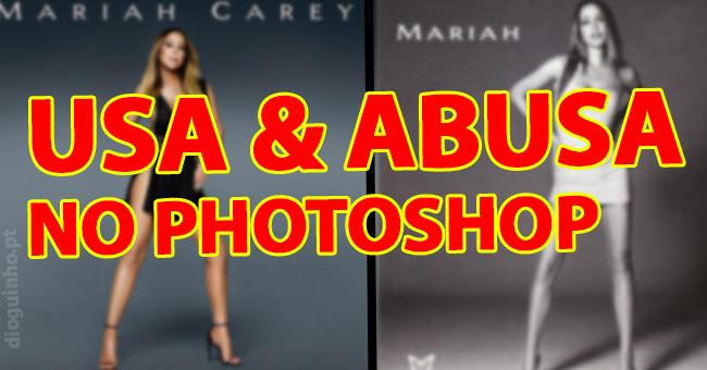 Photo of Mariah Carey usa e abusa do photoshop