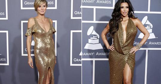 Photo of Kim Kardashian e Heidi Klum: o que uma tem a mais, a outra tem a menos!