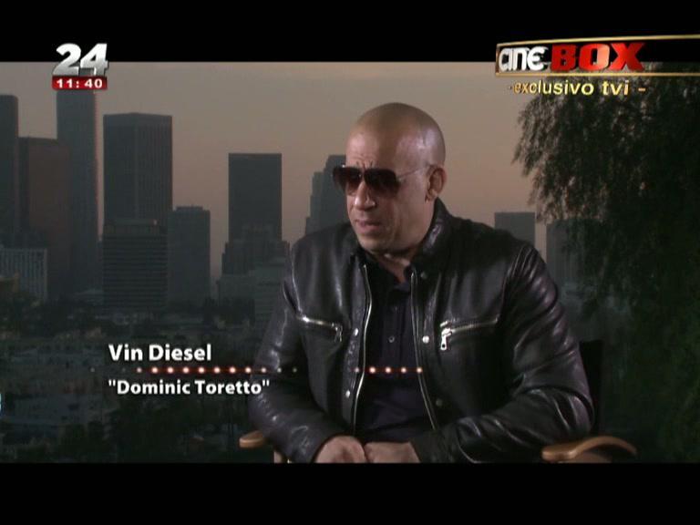 Photo of Vin Diesel em entrevista à TVI fala do Velocidade Furiosa 7 e da morte de Paul Walker