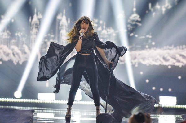 Photo of Leonor Andrade deu tudo na Eurovisão