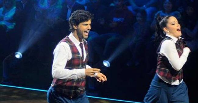 Photo of Bruno Cabrerizo em colisão com o seu par no «Dança com as Estrelas»