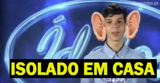 """Photo of Ídolos: Caso bullying explicado por um professor do jovem """"não sai de casa há 4 dias"""""""