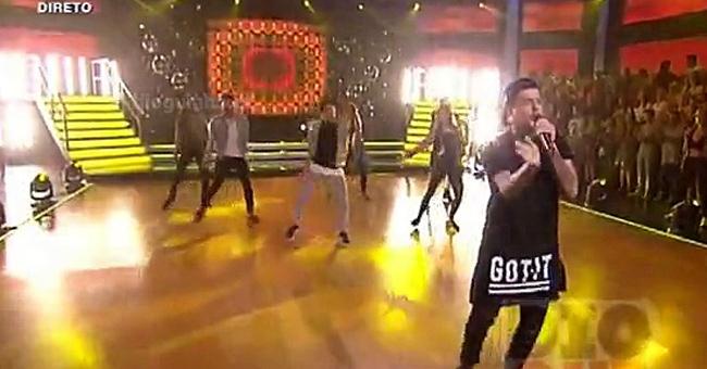 Photo of Agir actuou no «Dança com as Estrelas»