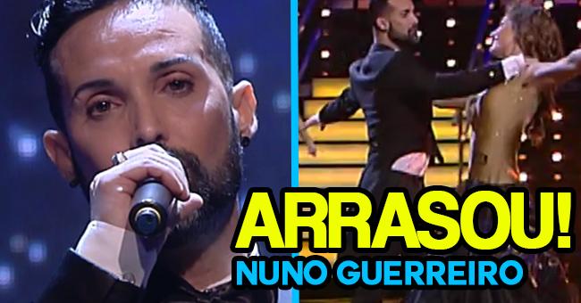 Photo of Nuno Guerreiro ARRASA a cantar e dançar no «Dança com as Estrelas»