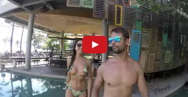 Photo of Pedro Guedes e Kelly Baron partilham vídeo das férias na Indonésia pagas pelos fãs