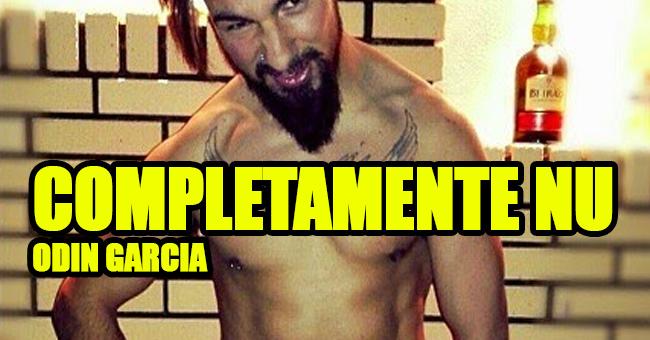 Photo of Odin Garcia publica fotografia sua completamente nu