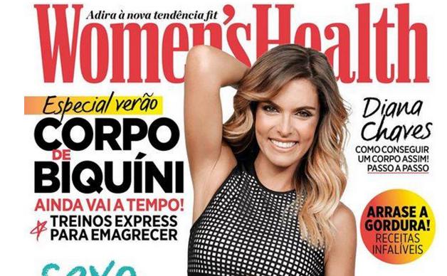 Photo of Diana Chaves é capa da Women's Health Portugal