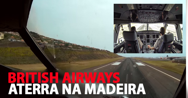 Photo of British Airways grava aterragem na Madeira
