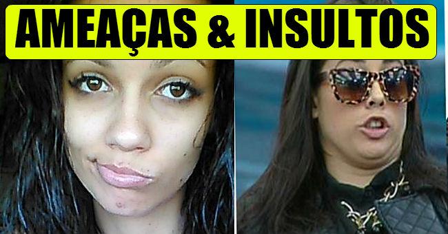 Photo of Daniela Duarte e Débora Picoito em grande peixeirada – INSULTOS E AMEAÇAS