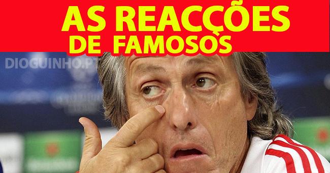 Photo of Famosos continuam a reagir à saída de Jorge Jesus para o Sporting